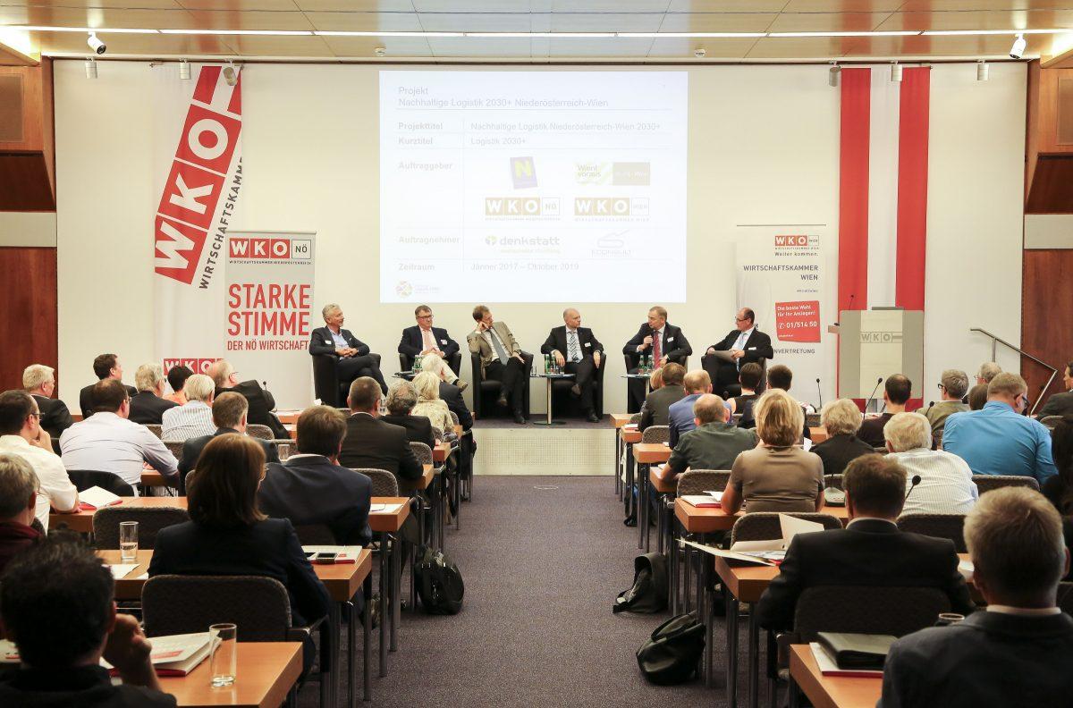 13.06.2017: Erfolgreicher Auftakt für das Projekt Nachhaltige Logistik 2030+ Niederösterreich-Wien