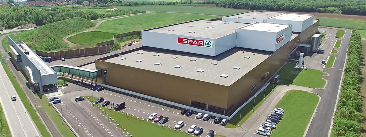 Exkursion in das neue SPAR Logistikzentrum in Ebergassing